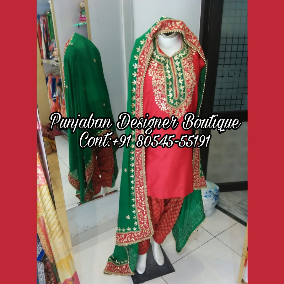 30a16f8b79 Designer Suit Top Boutique In Patiala |Punjaban Designer Boutique