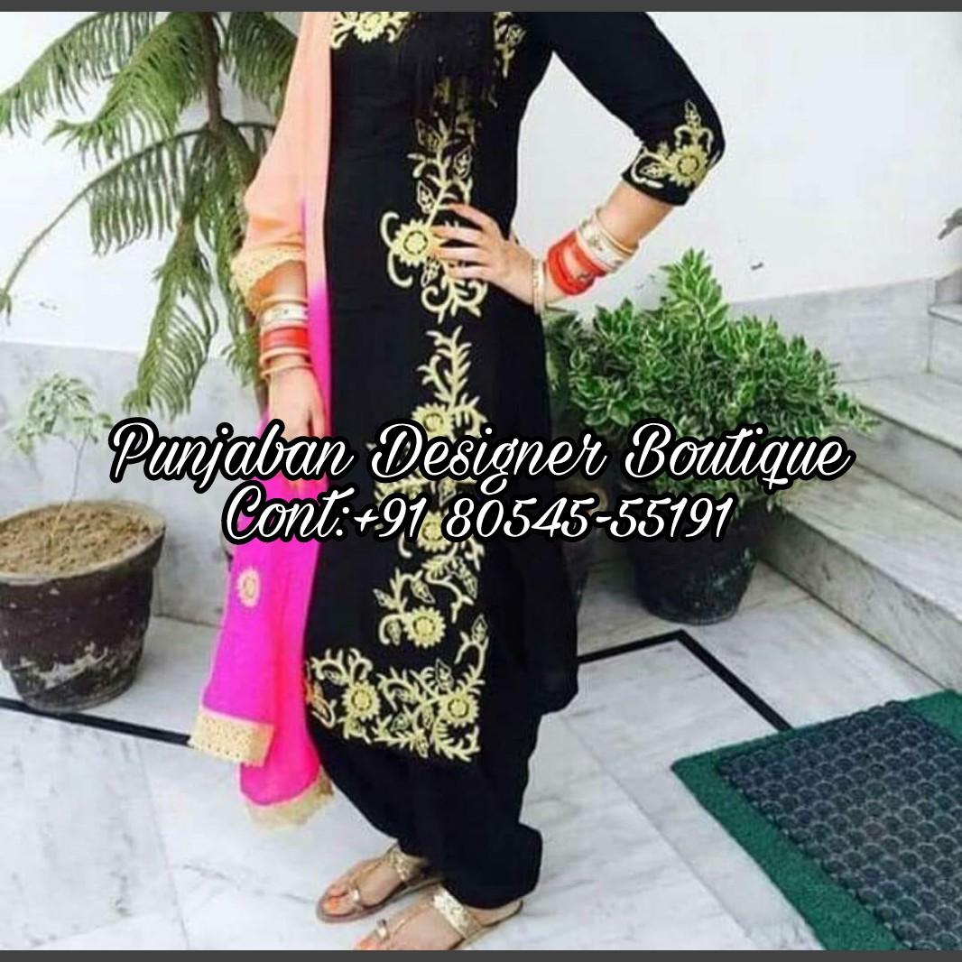 100b6ff996 Punjabi Salwar Suit Design 2018  Punjaban Designer Boutique