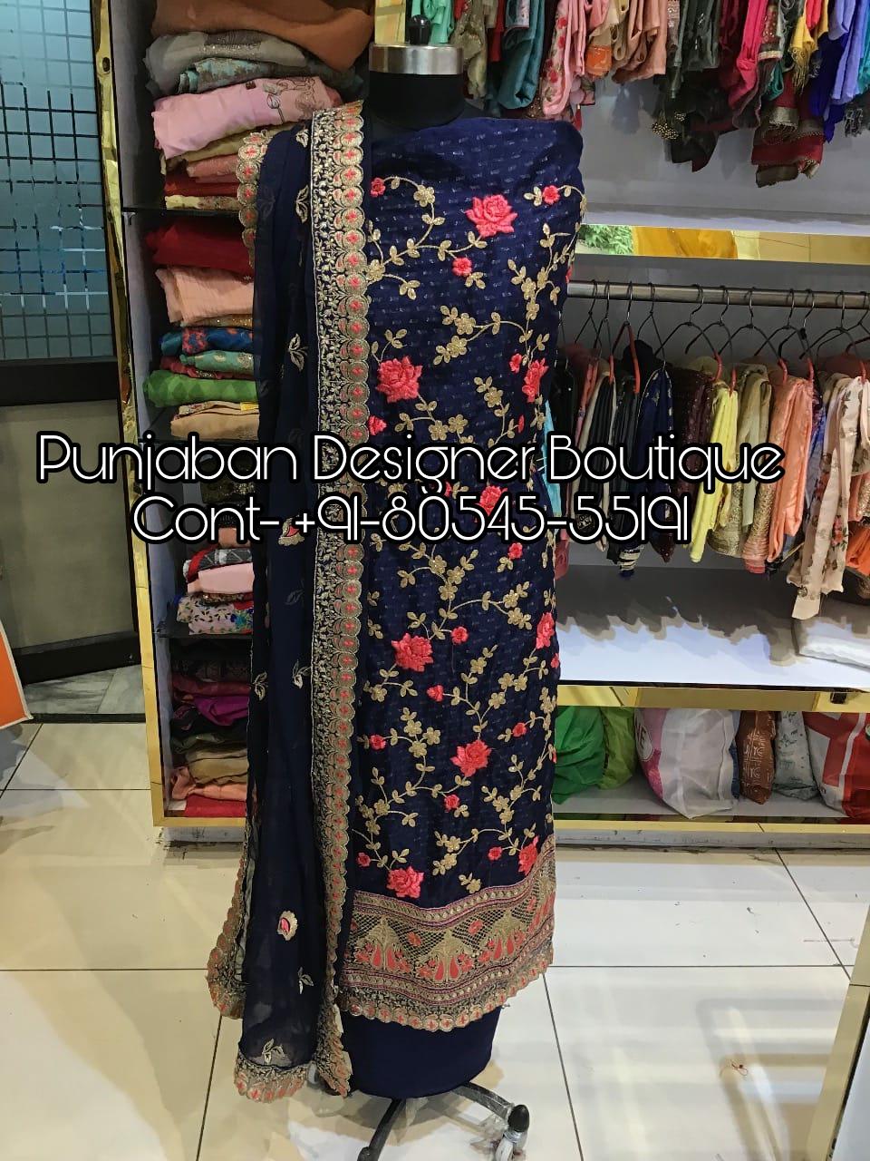 Punjabi Suit Online Shopping Uk Punjaban Designer Boutique