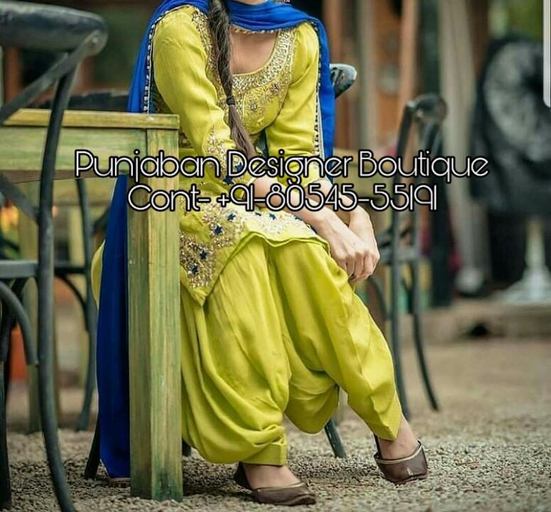 Buy Patiala Salwar Suit Online India Punjaban Designer Boutique