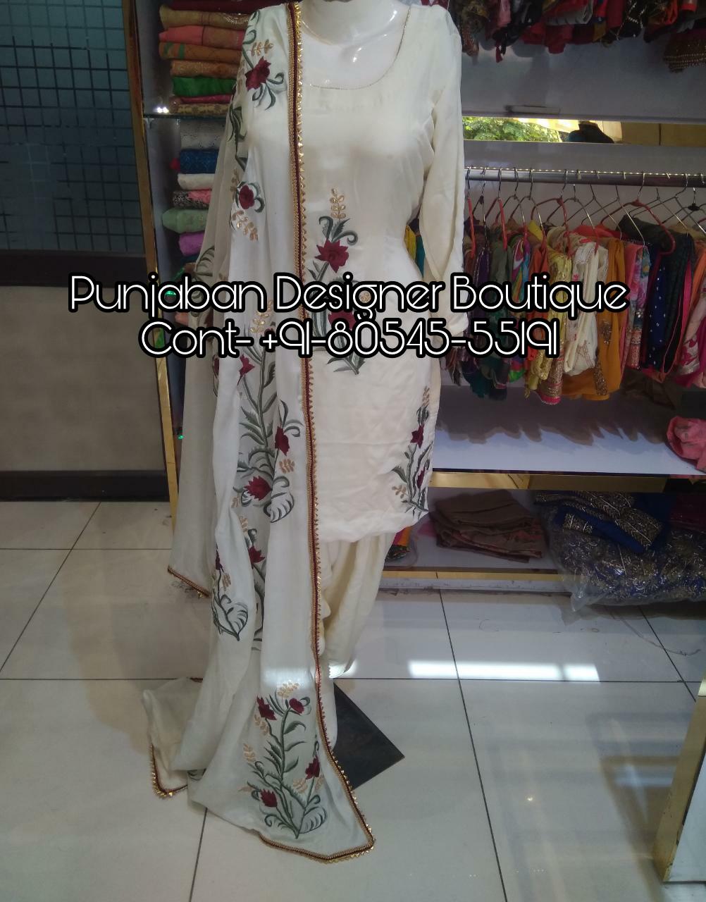 Designer Punjabi Suits Party Wear Boutique Punjaban Designer Boutique,Negative Space Design