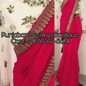 Designer Sarees Online Shopping, designer sarees online shopping, designer sarees with price, designer sarees images, saree design for wedding, latest designer party wear sarees, party wear sarees with price, Punjaban Designer Boutique