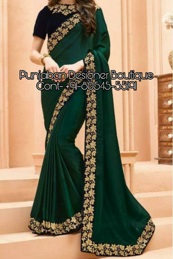 New Fancy Saree With Price Punjaban Designer Boutique