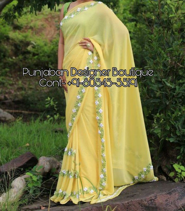 Designer Sarees For Wedding Reception Online Punjaban