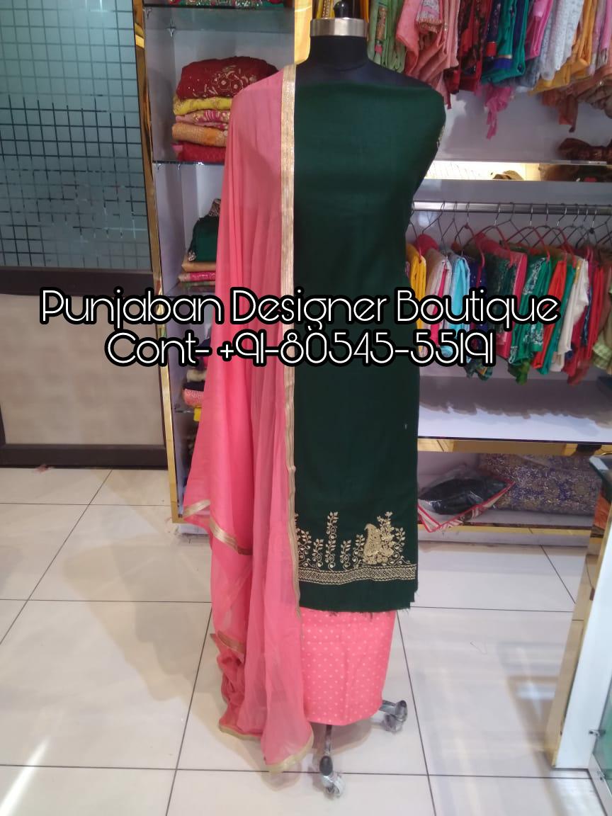 Punjabi Suit Buy Online Punjaban Designer Boutique