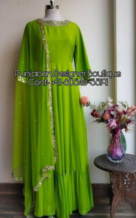 bdfcbc6ce25c3 Buy Long Dresses Online Cheap India | Punjaban Designer Boutique