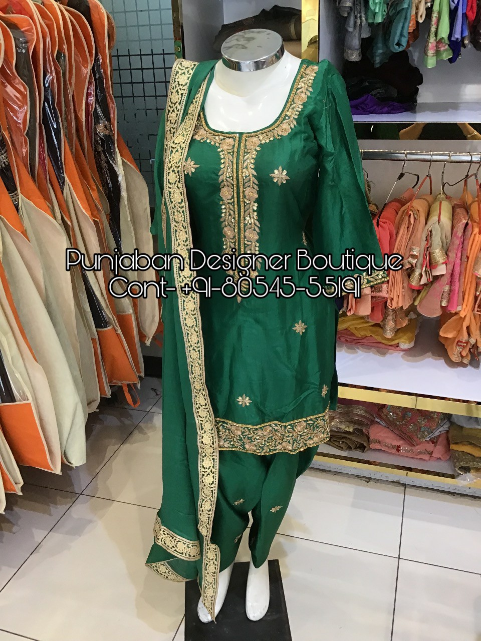 Designer Suits Wholesale Price Punjaban Designer Boutique