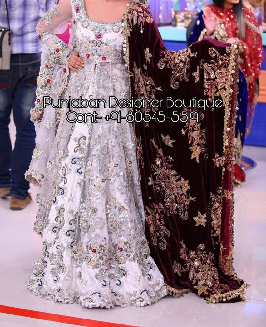 PDB 1807 ( Indian Bridal Wear Online Shopping )