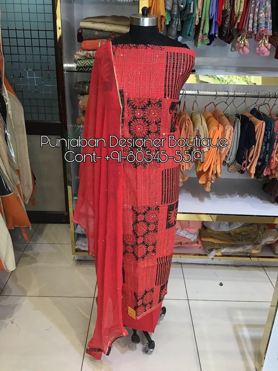 New Designer Punjabi Suits With Price Punjaban Designer Boutique