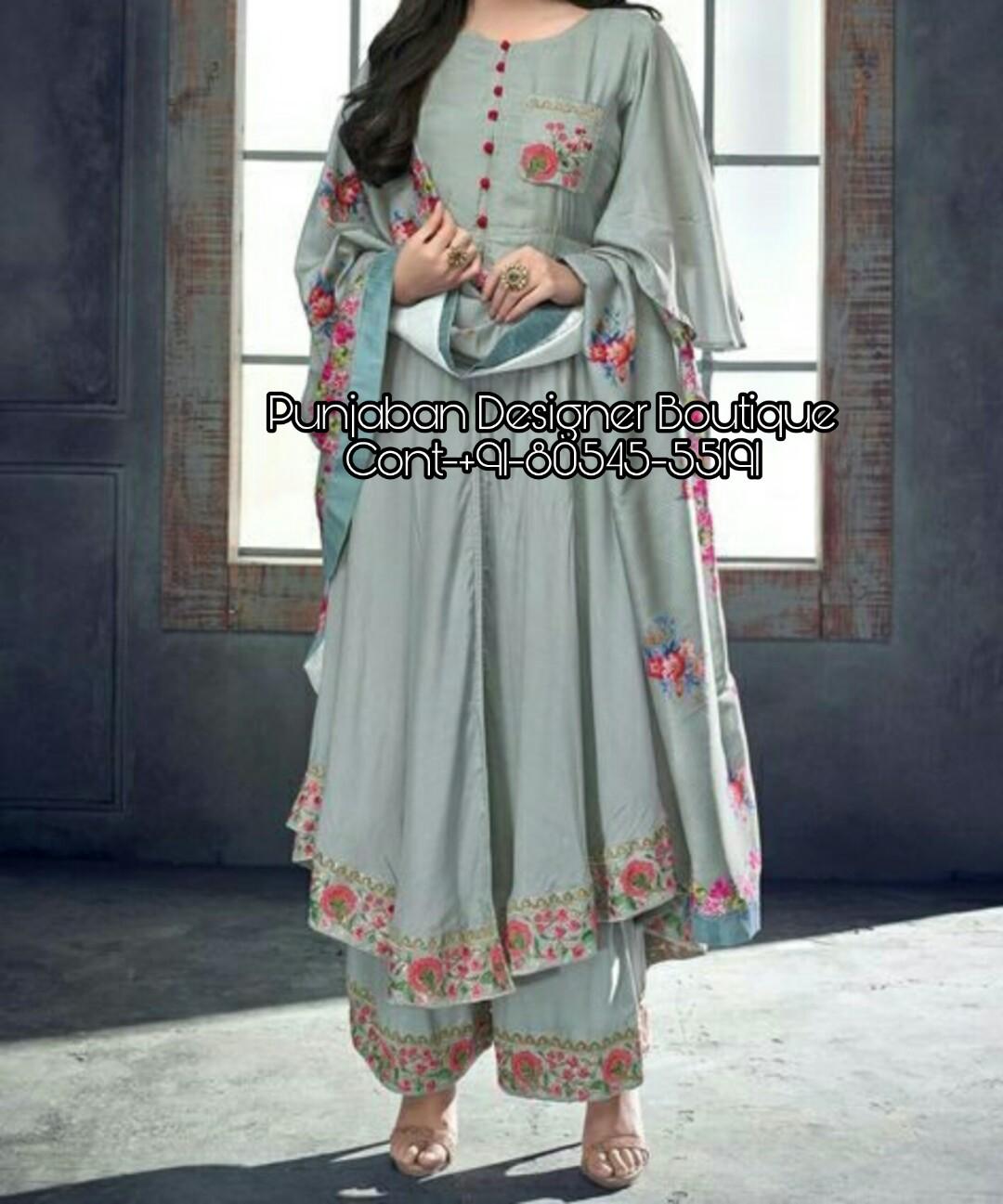 46ff2e512 Palazzo Suit Kurti Designs | Punjaban Designer Boutique