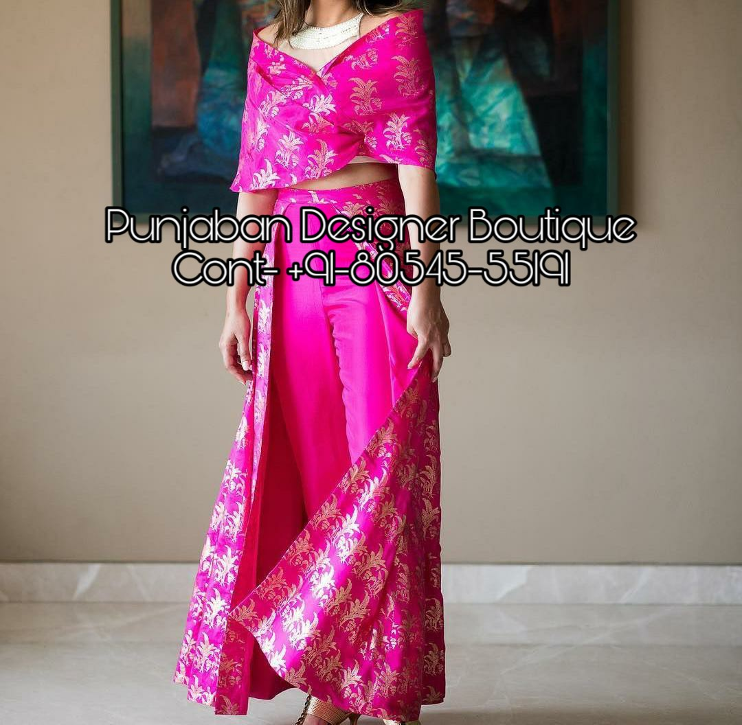party wear western dress buy online  punjaban designer