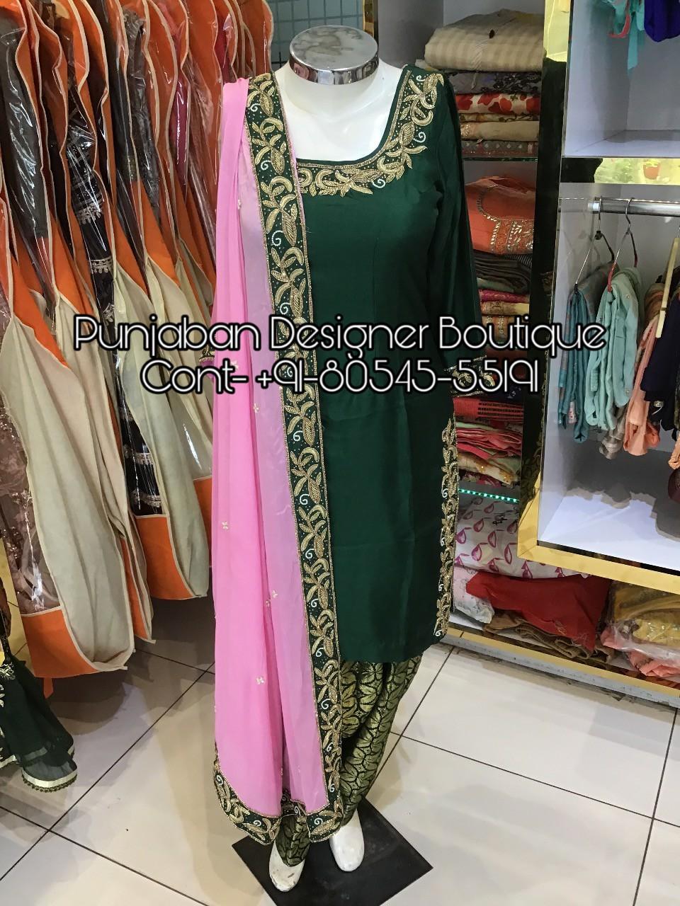 Readymade Salwar Suits Wholesale Online Punjaban Designer Boutique