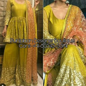 Golden Punjabi Suit Online | Punjaban Designer Boutique, Plazo Suit Styles With Price, Palazzo Suits Designs Online Shopping, Long Kurtis With Palazzo, long kurtis with palazzo online, long kurti with palazzo designs, long kurti with palazzo online india, long kurti with palazzo and dupatta, Palazzo Suits Online Australia plazo with top, plazo dress for girl, images of palazzo suits, pant plazo design, designer palazzo pants with long kurta, long kurtis with palazzo pants, plazo kurta, Golden Punjabi Suit Online | Punjaban Designer Boutique