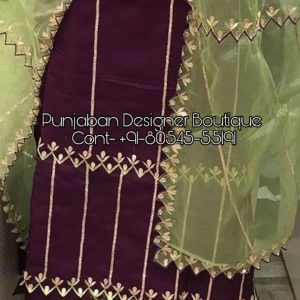 Bridal Punjabi Suits Online Shopping | Punjaban Designer Boutique