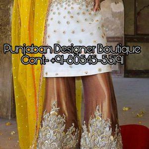 Designer Boutiques in Jalandhar Punjab India, Designer Suits Punjabi