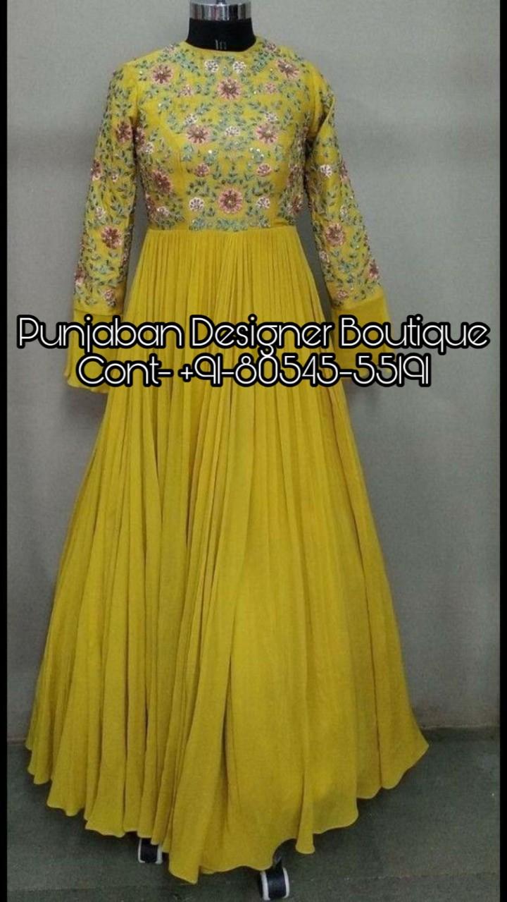 Long Dress For Girls Punjaban Designer Boutique