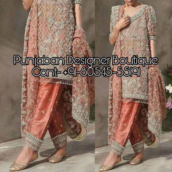 Buy Heavy Salwar Suits Online India Punjaban Designer Boutique