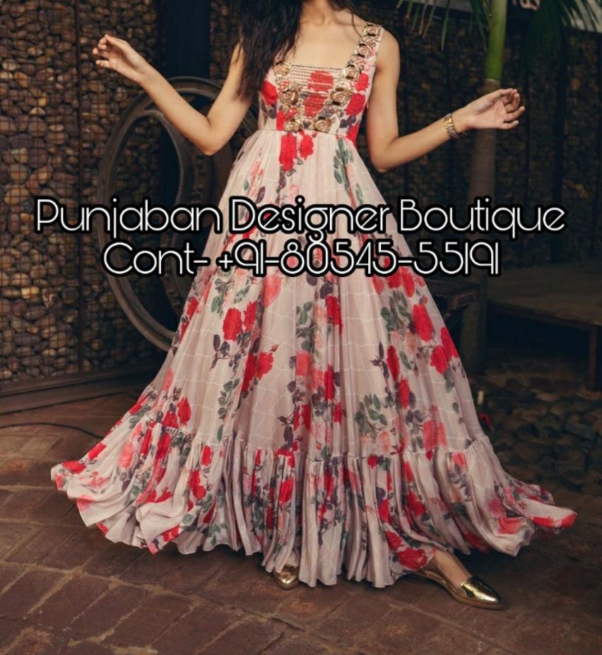 Long Dresses For Women Punjaban Designer Boutique