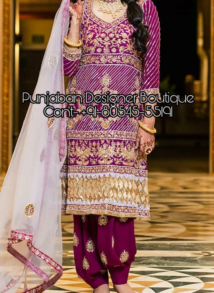 Buy Salwar Kameez Online From India Punjaban Designer Boutique