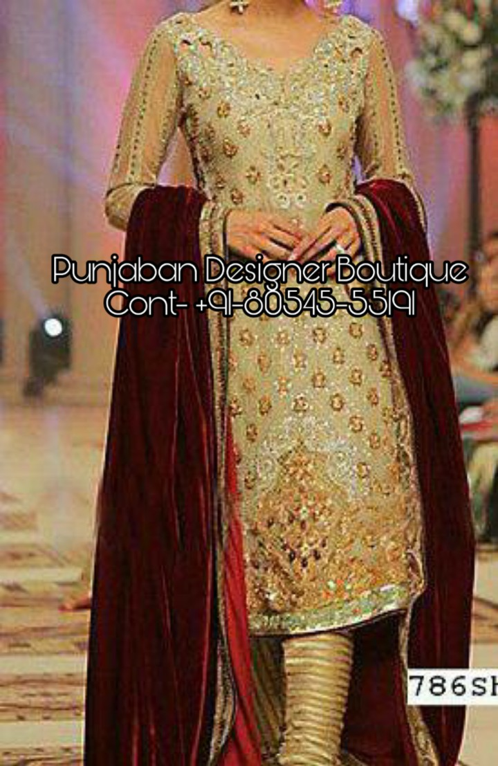 Party Wear Long Pajami Suit Punjaban Designer Boutique
