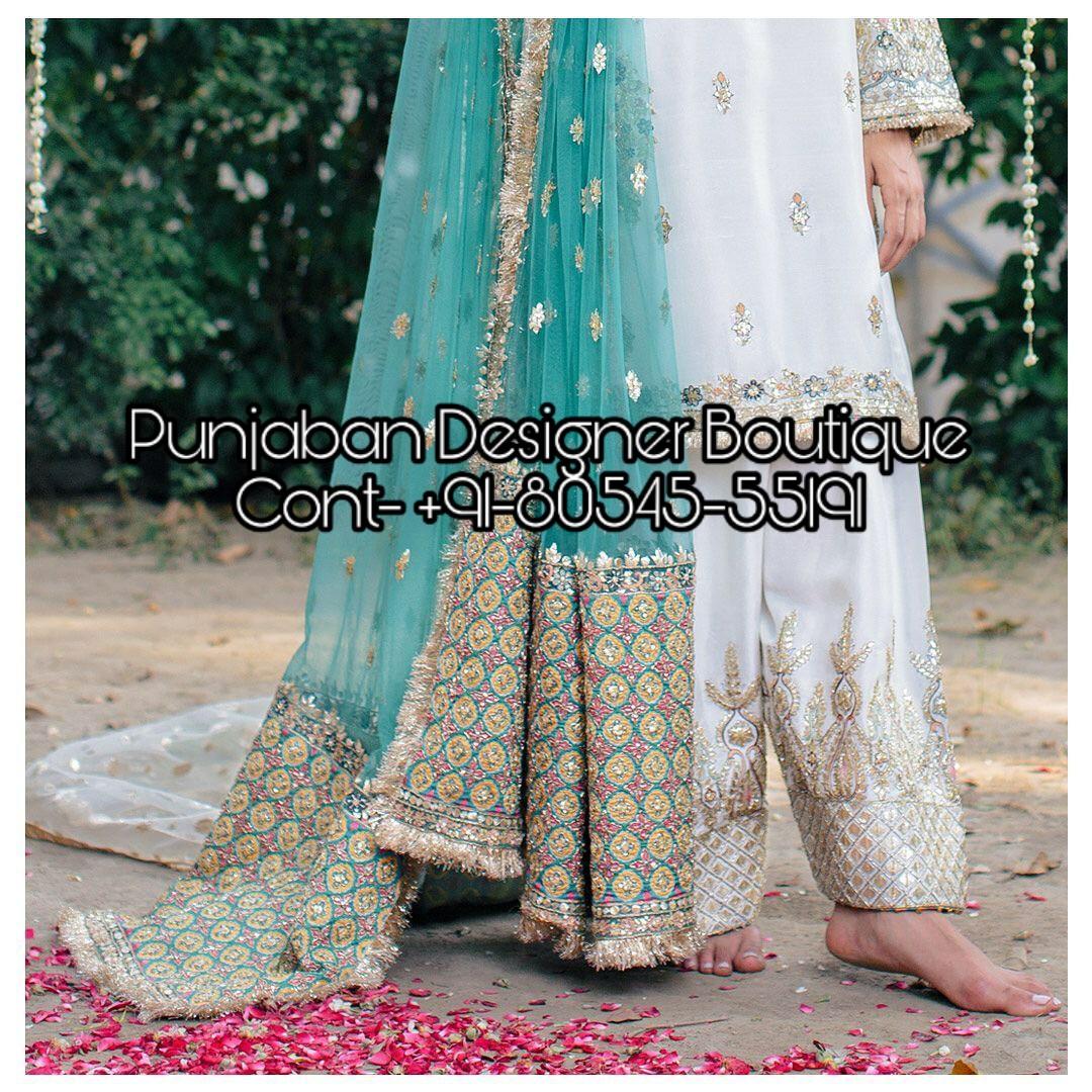 Punjabi Salwar Kameez Online India Punjaban Designer Boutique