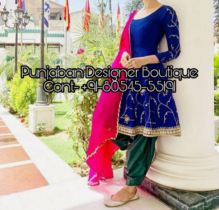 Salwar Suit Punjabi Style Punjaban Designer Boutique
