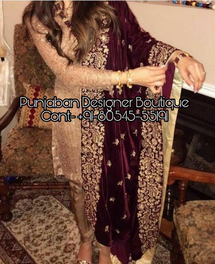 Designer Punjabi Suits Boutique In Chandigarh Punjaban Designer Boutique