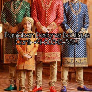 Sherwani Price In Chandigarh, sherwani designer in chandigarh, groom sherwani in chandigarh, wedding dresses for groom in chandigarh, sherwani in chandigarh, Punjaban Designer Boutique