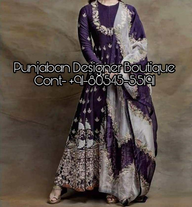 Party Wear Anarkali Suit Online