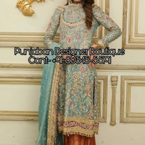 Buy designer Palazzo Suits and Plazo Dresses online from Punjaban Designer Boutique . Latest collection of Plazo Suits designs at low prices.