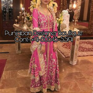 Looking to buy Anarkali online? ✓ Buy the latest designer Anarkali suits at Punjaban Designer Boutique .with a variety of long Anarkali suits, party wear .