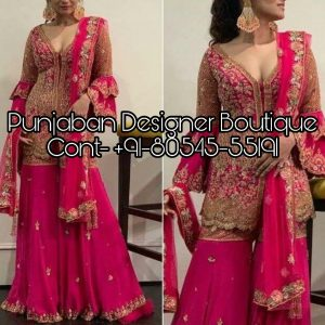 Stylish Heavy Sharara Suit designs especially for party occasion at best discounted prices including unique readymade sharara indian suit range .