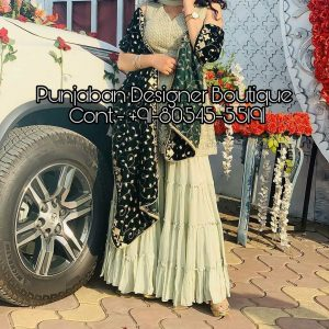 Heavily embroidered Sharara suits & salwar kameez online from Punjaban Designer Boutique . Our Sharara salwar kameez are hand embroidered for parties . Embroidered Sharara suit , embroidered sharara suit, heavy embroidered sharara suit, green and pink embroidered sharara suit, sharara suit, sharara suit pakistani, sharara suit online, sharara suit 2019, sharara suit design, sharara suit with long kameez, yellow sharara suit online, Punjaban Designer Boutique