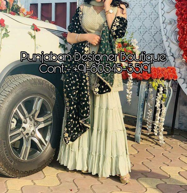 Heavily embroidered Sharara suits & salwar kameez online from Punjaban Designer Boutique . Our Sharara salwar kameez are hand embroidered for parties . Embroidered Sharara suit , embroidered sharara suit, heavy embroidered sharara suit, green and pink embroidered sharara suit, sharara suit, sharara suit pakistani, sharara suit online, sharara suit 2019, sharara suit design, sharara suit with long kameez, yellow sharara suit online, Punjaban Designer Boutique