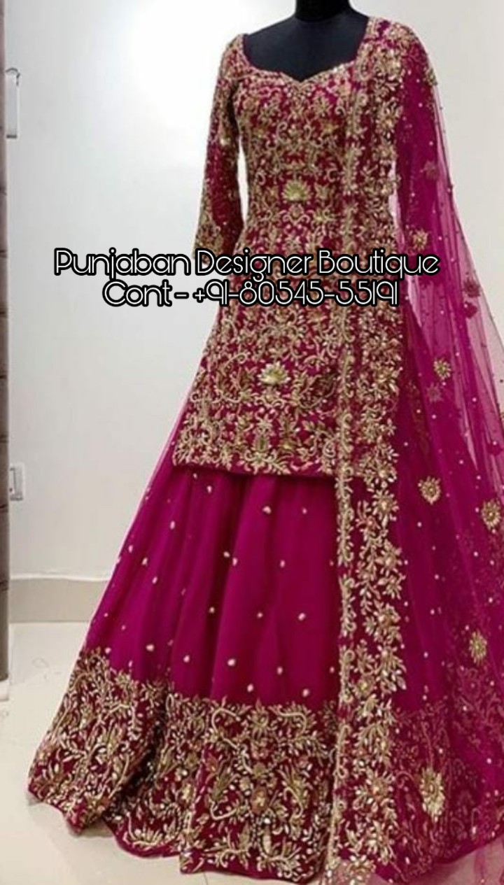 Lehenga Choli Designs For Bridal Punjaban Designer Boutique