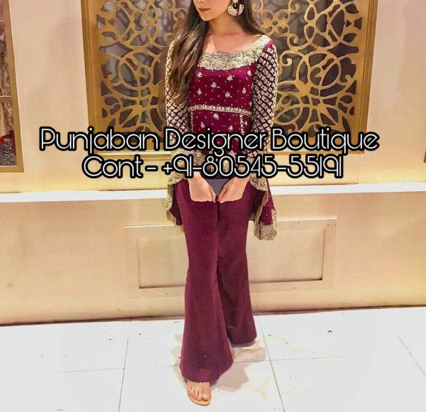 Buy designer Palazzo Suits and Plazo Dresses online from Punjaban Designer Boutique , Latest collection of Plazo Suits designs at low prices.☆New Plazo Suit Design 2019 , new plazo suit design 2020, plazo suit design for baby girl, new plazo suit design 2019, new plazo suit design, new punjabi plazo suit design, plazo suit design 2018, Punjaban Designer Boutique India , Canada , United Kingdom , United States, Australia, Italy , Germany , Malaysia, New Zealand, United Arab Emirates