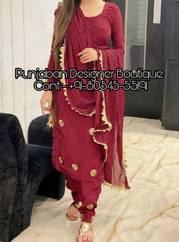 Looking for Punjabi dresses online? ✓ Click to view our collection of Punjabi clothing, Indian Punjabi suits & more latest designs of Patiala salwar suits! Salwar Suit Design Punjabi , design of punjabi salwar suit, salwar suit design punjabi, punjabi salwar suit neck design, new punjabi salwar suit design 2019, new punjabi salwar suit design 2020, punjabi salwar suit design 2018, black punjabi salwar suit design,  Punjaban Designer Boutique India , Canada , United Kingdom , United States, Australia, Italy , Germany , Malaysia, New Zealand, United Arab Emirates