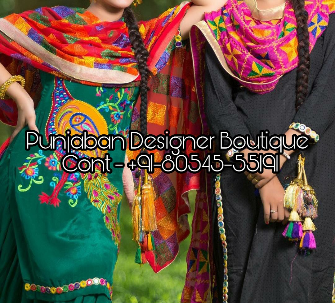 Salwar Suit Designs 2020 Punjaban Designer Boutique
