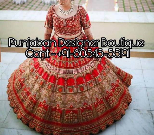Lehenga Blouse Design For Bride Punjaban Designer Boutique