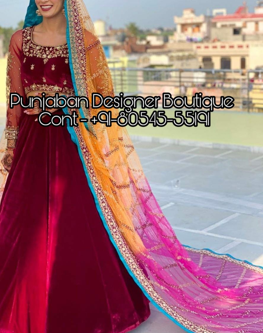 Lehenga Designs 2020 For Girl Punjaban Designer Boutique