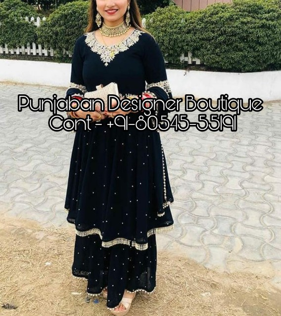 Punjabi Suit New Fashion Punjaban Designer Boutique
