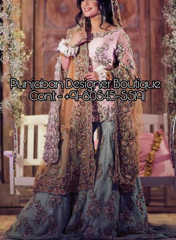 Heavily embroidered Sharara suits & salwar kameez online from Punjaban Designer Boutique . Our Sharara salwar kameez are hand embroidered for parties . sharara suits, sharara suit set, sharara suits online usa, sharara suits india, sharara suit online, sharara suit india, sharara suit design, sharara suit pics, sharara suit and kurti, buy a sharara suit,  Punjaban Designer Boutique India , Canada , United Kingdom , United States, Australia, Italy , Germany , Malaysia, New Zealand, United Arab Emirates