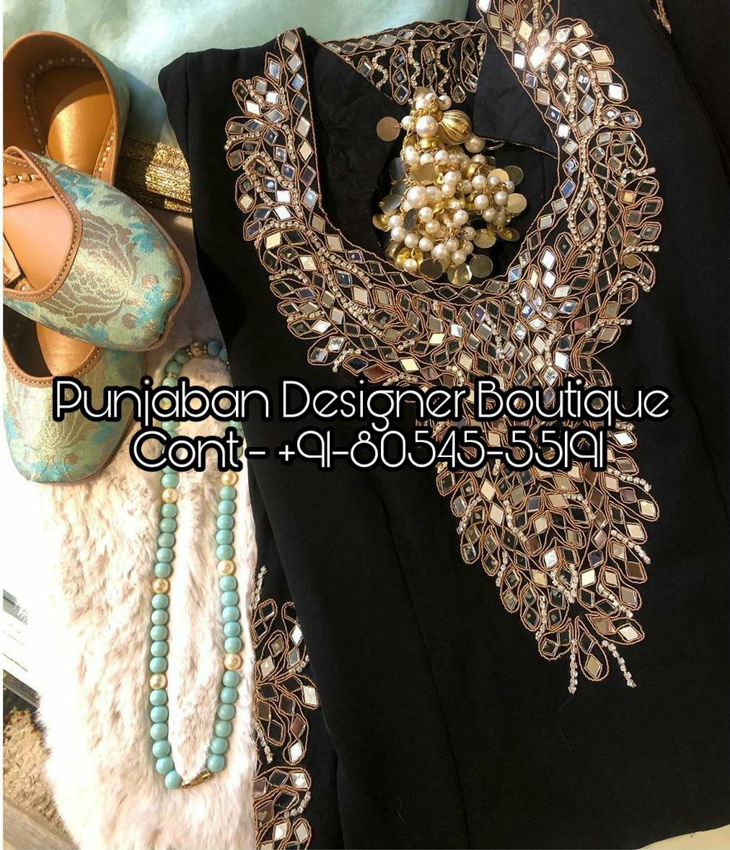 Boutique In Chandigarh For Punjabi Suits Punjaban Designer Boutique