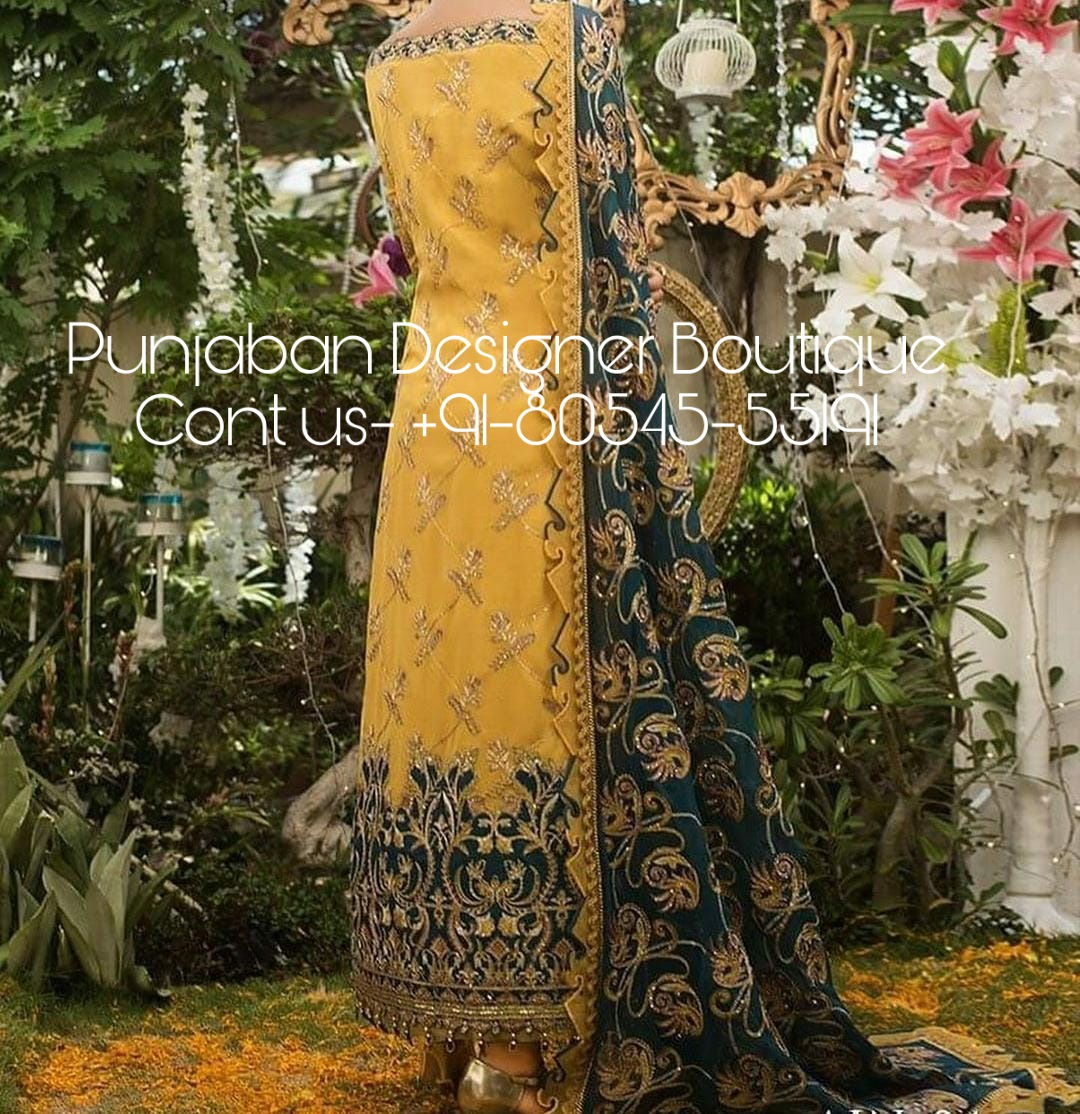 Punjabi Suit Boutique Bathinda Punjaban Designer Boutique,Negative Space Design