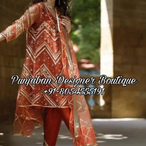 Buy Punjabi Suit Online Boutique