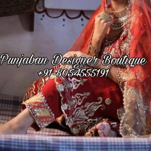 Punjabi Suit for weddings