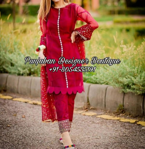 Buy Punjabi Trouser Suit Online