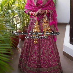 Online Punjabi Lehenga Bridal