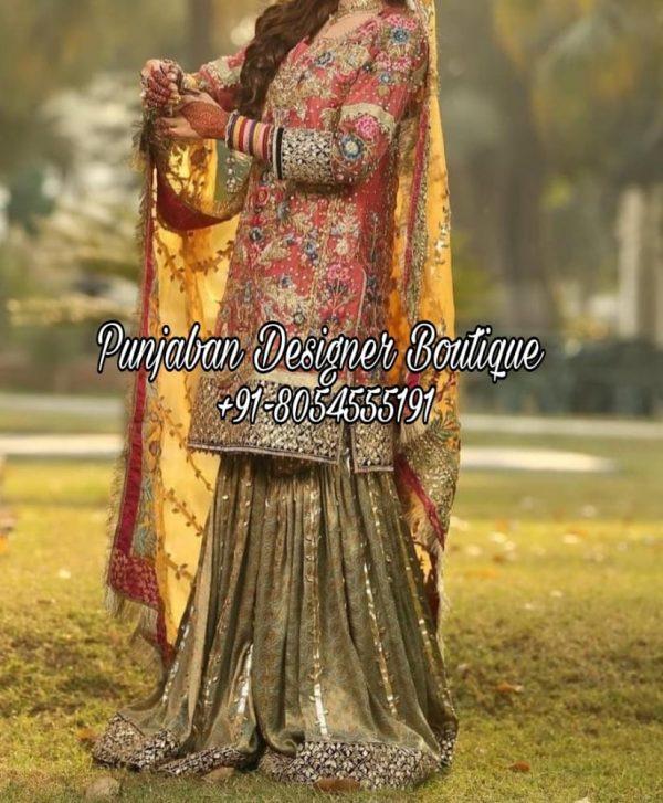 Buy Online Punjabi Sharara Suits Canada