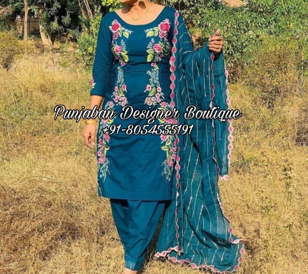 Buy Punjabi Salwar Suits Online Boutique